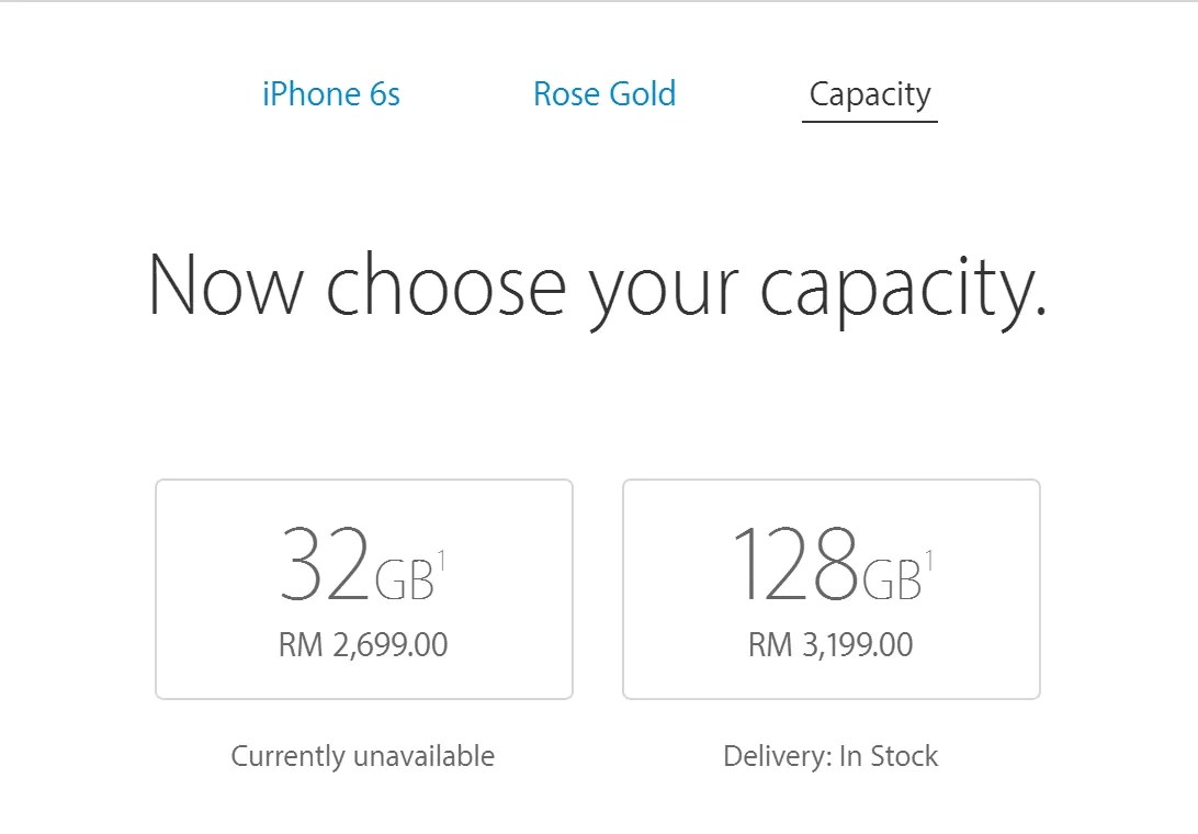 Apple Reduces Prices Of 128GB iPhone 6s and 6s Plus in