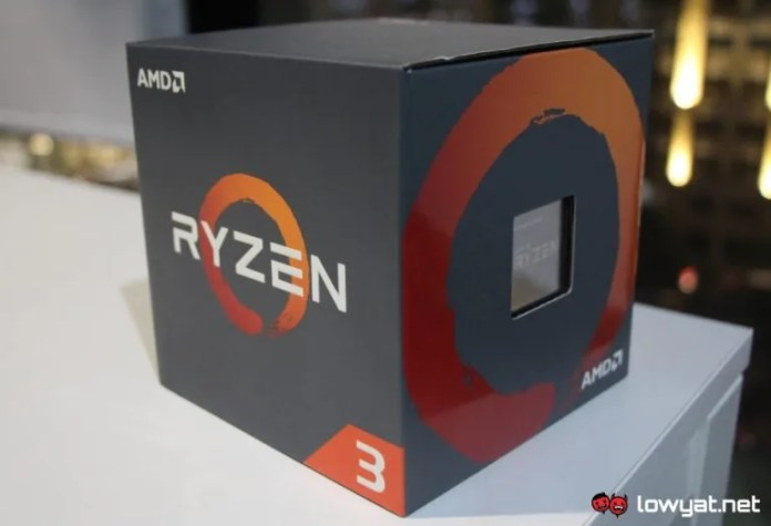Amd Ryzen 3 2300x Coming To Malaysia This March For Rm 299 No Longer Exclusive To Oem Lowyat Net