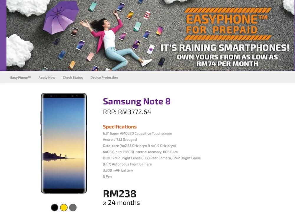 Xpax Samsung Galaxy Note8