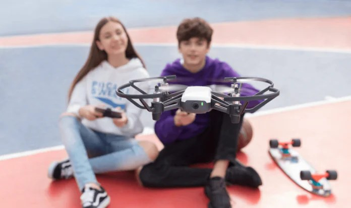 Tello Is A RM 400 Drone For Education By Ryze Robotics And
