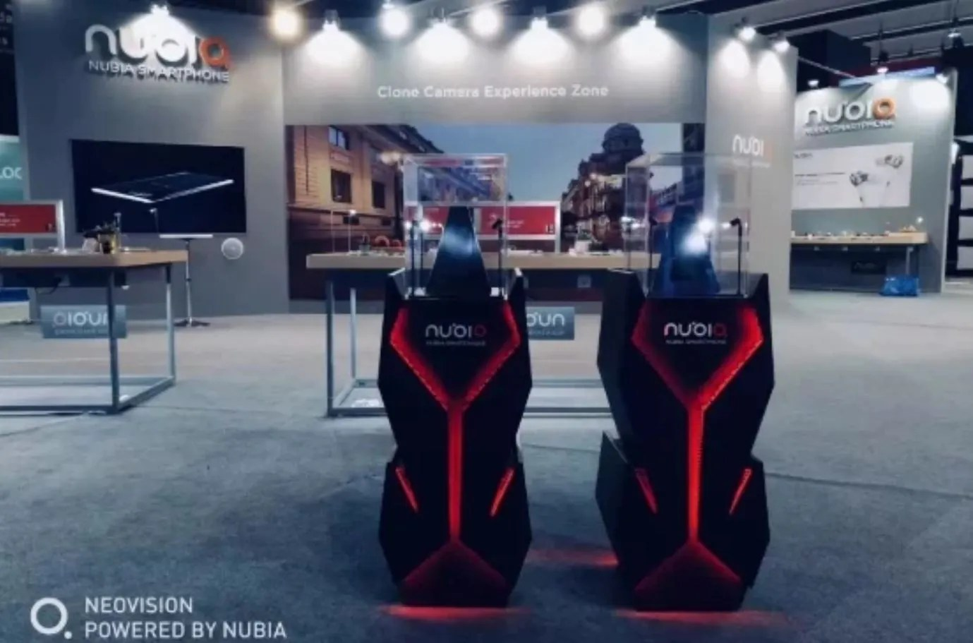 There are, however, some additional details at the glass encased setup. The  Nubia gaming smartphone prototype was naturally off-limits for attendees,  ...
