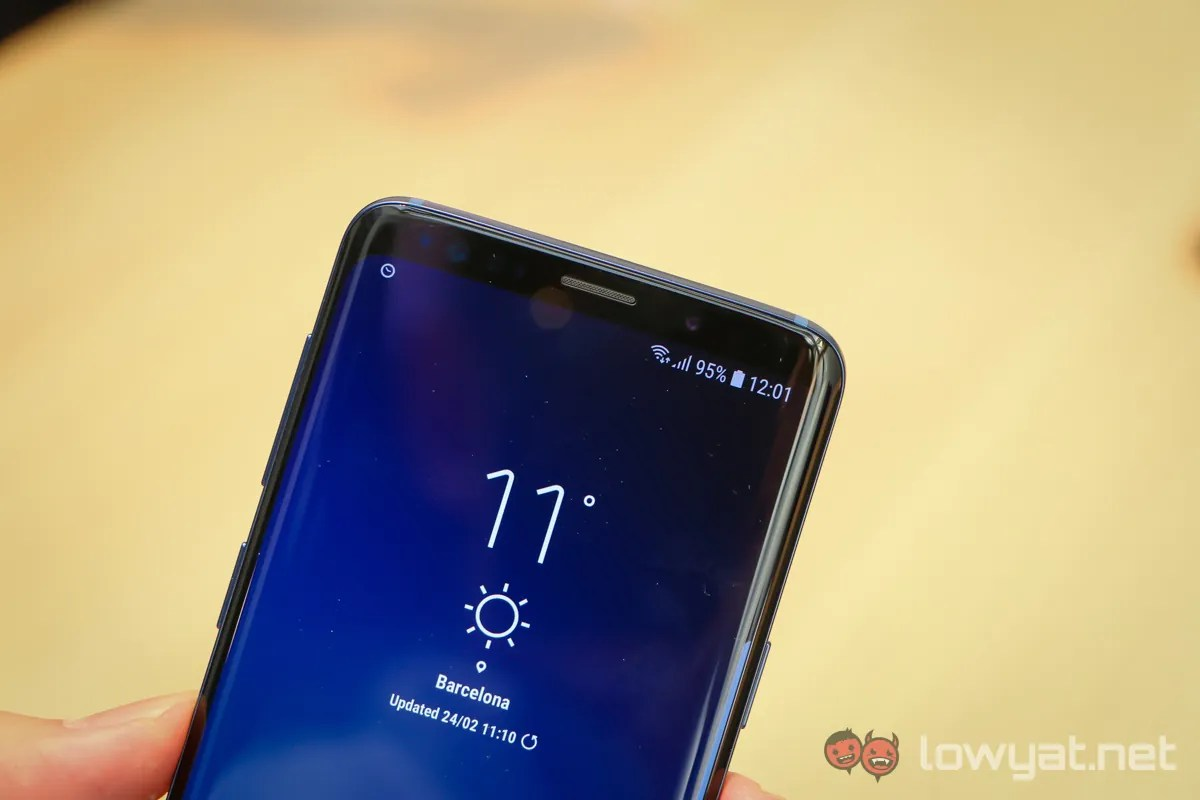 The Galaxy S9 and S9+ retain the same display size and roughly the same  dimensions, so both phones are very easy on the hands even when they have  large 5.8- ...