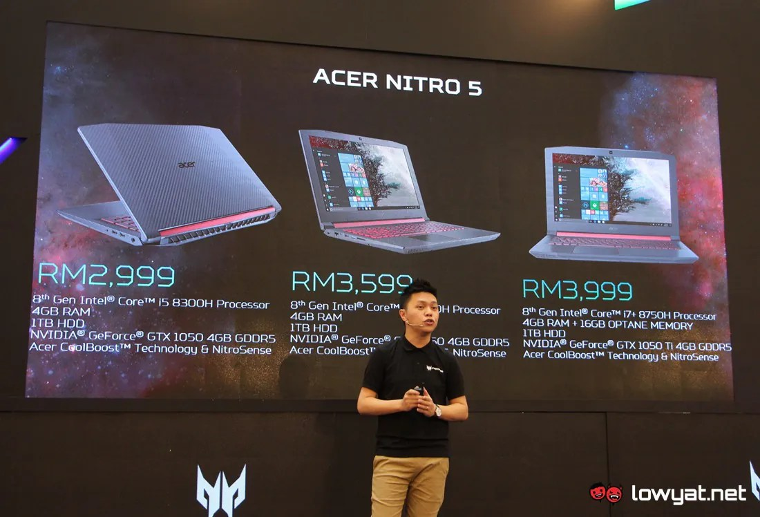 Acer Nitro 5 with Intel Core i7+ Is Here: Features Optane