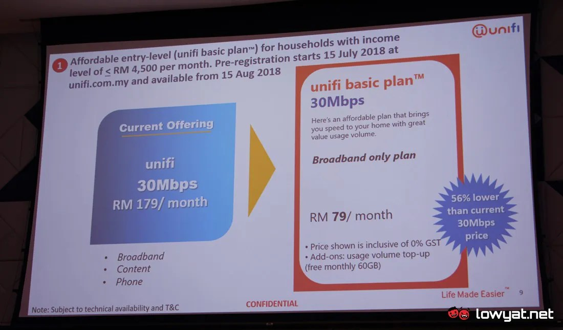 unifi Basic To Be Available For All Starting This September