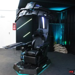 Console Gaming Chair 24 Hour Acer Predator Thronos Is A Massive Motorized Cockpit; Able To Fit Three Monitors | Lowyat.net