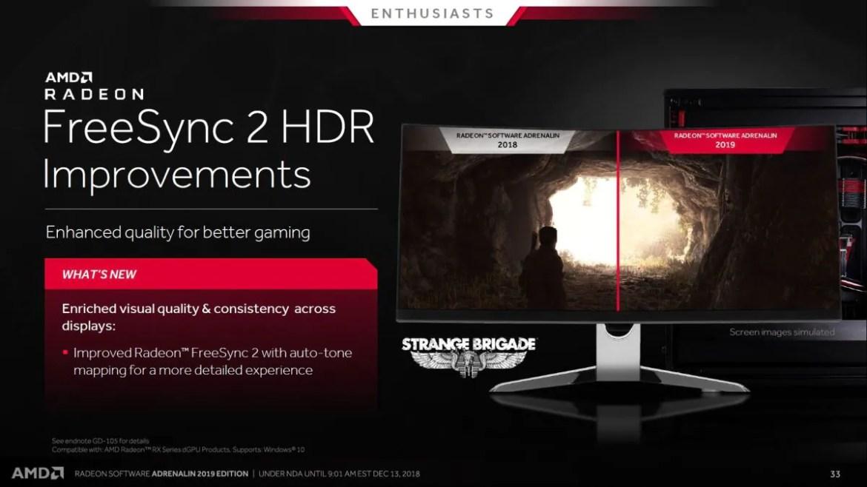 AMD Radeon Software Adrenalin 2019 Edition: Of Improved
