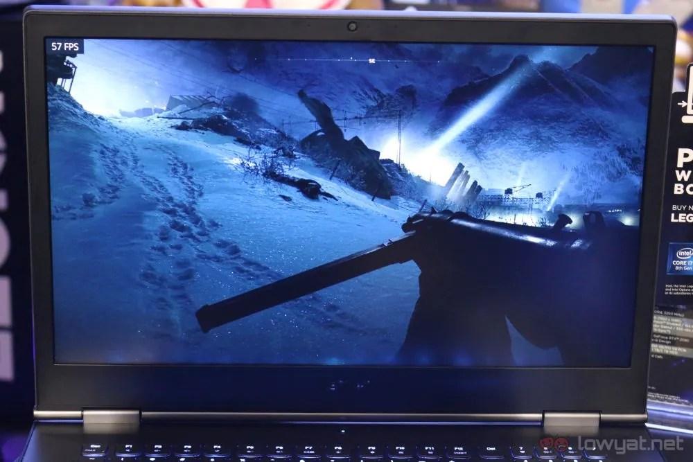 Lenovo Legion Y740 Gaming Laptop Hands-On: Still