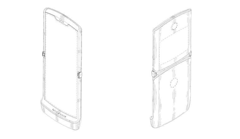 Another Motorola Razr Patent Sighted; Now Features Iconic