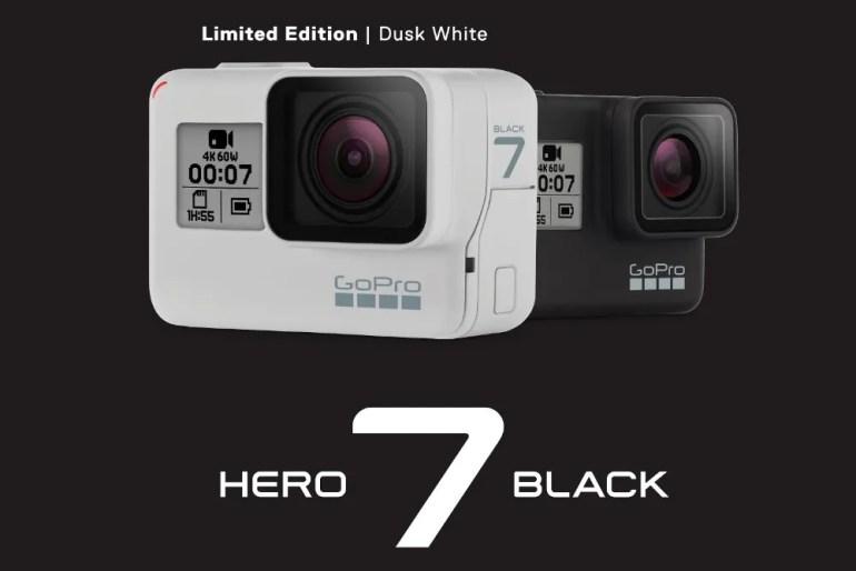 GoPro Hero 7 Black Receives Limited Edition Dusk White