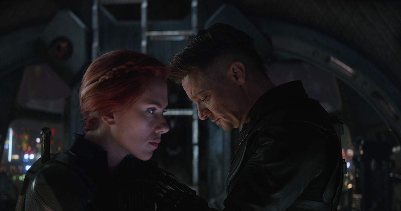 Avengers: Endgame Black Widow Hawkeye