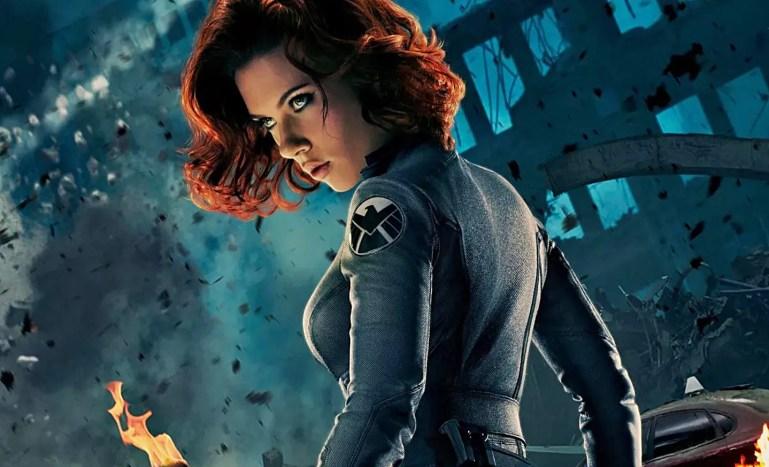 Black Widow Scarlett Johansson