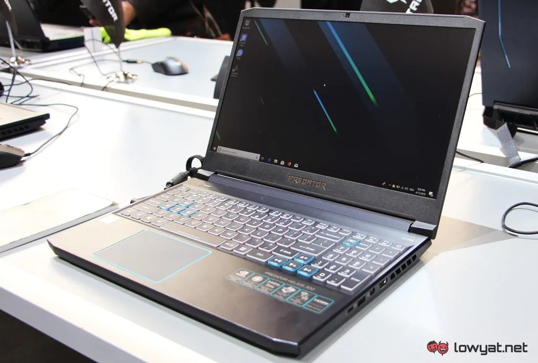 Acer Predator Helios 300 Has A New Look and Hardware for