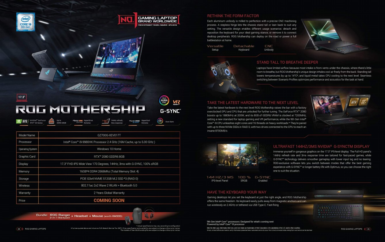 ASUS ROG Mothership Is Coming To Malaysia