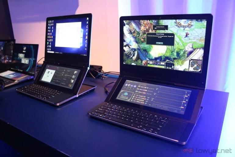 Intel Shows Off Honeycomb Glacier Concept Dual Display
