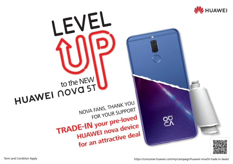Level Up To The New Huawei Nova 5t With Discounts Of Up To
