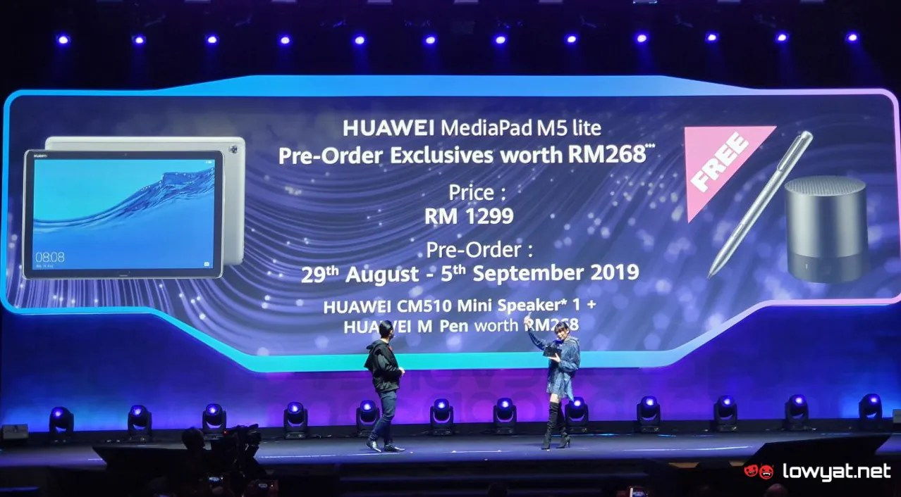 Huawei MediaPad M5 Lite To Be Available in Malaysia For RM