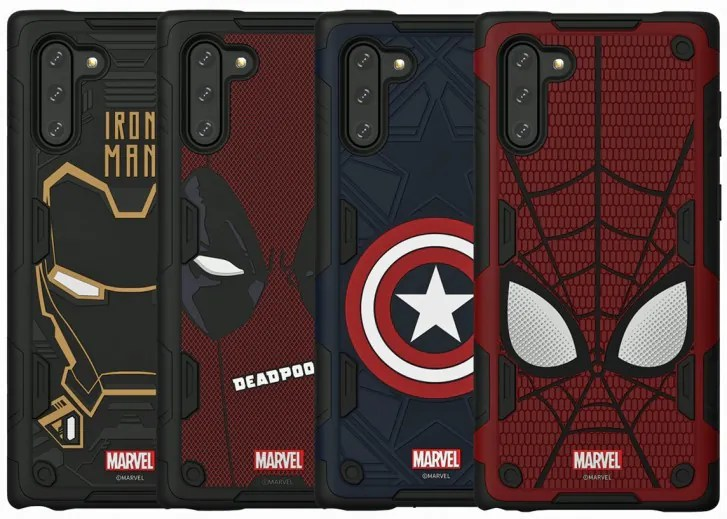 Marvel-Theme Samsung Galaxy Note10 Smart Casings Appear