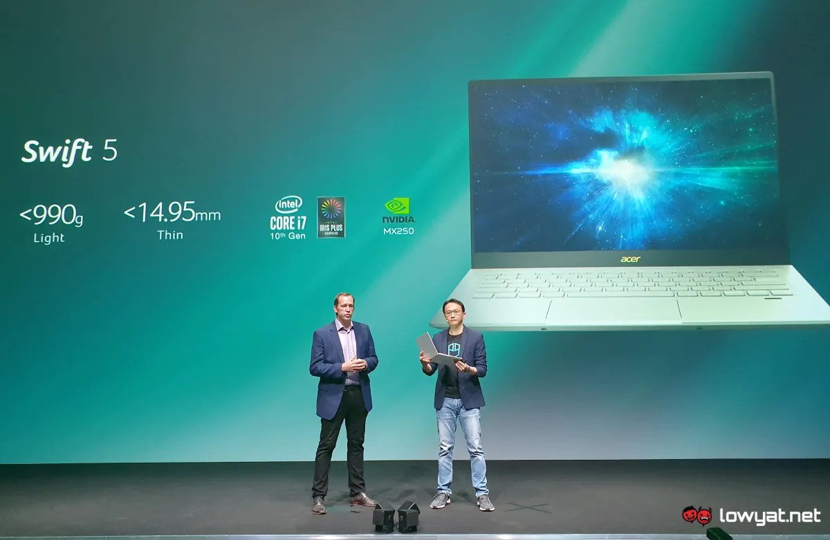 Two new Acer Swift laptops fly into IFA 2019 packing discrete graphics