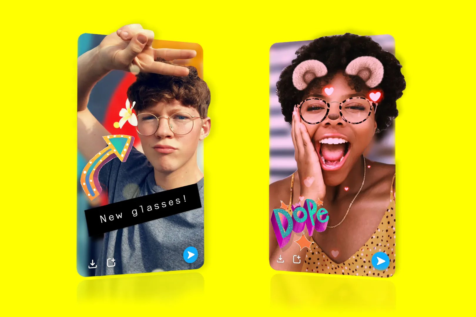 Snapchat brings 3D camera mode for selfies
