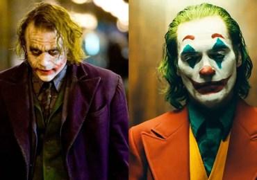 Joker Heath Ledger Joaquin Phoenix
