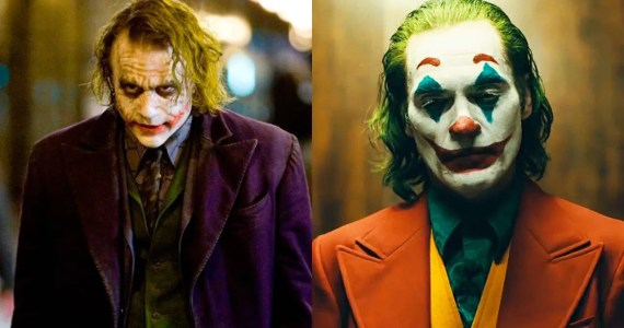Joker Heath Ledger Joaquin Phoenix