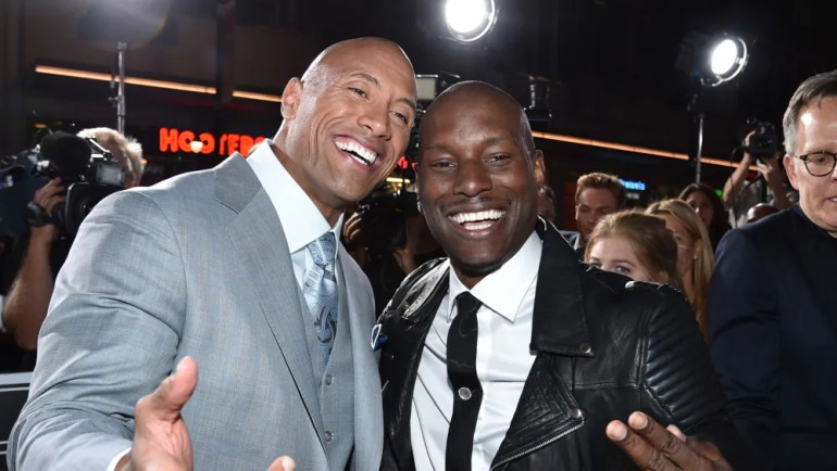Hobbs & Shaw The Rock Tyrese Gibson