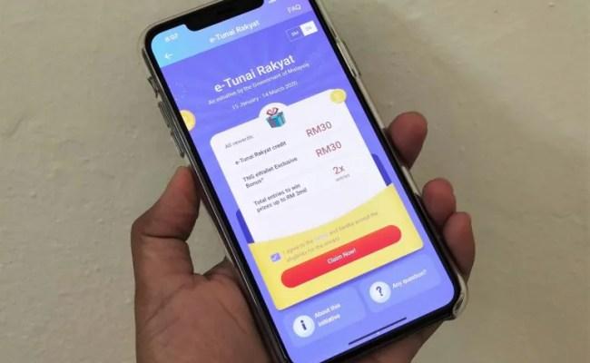 E Tunai Rakyat Touch N Go Ewallet Offers Additional Rm 30