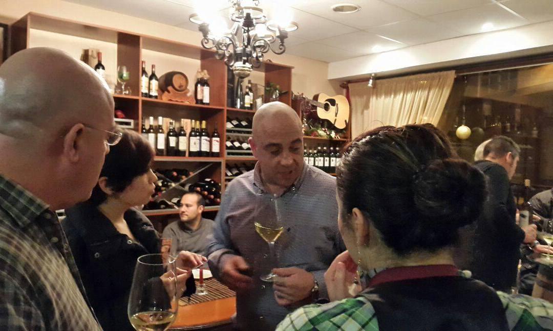 Presentación Celeirós D.O. Ribeira Sacra y Celeirós D.O. Albariño en La Tavernetta