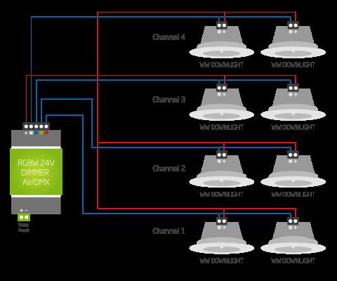10v Dimming Wiring Diagram Informationen Zur Verkablung Loxone Dokumentation