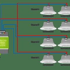 Wiring Diagram 4 Spotlights Prokaryotic Cells Labeled Information Informationen Zur Verkablung - Loxone Dokumentation