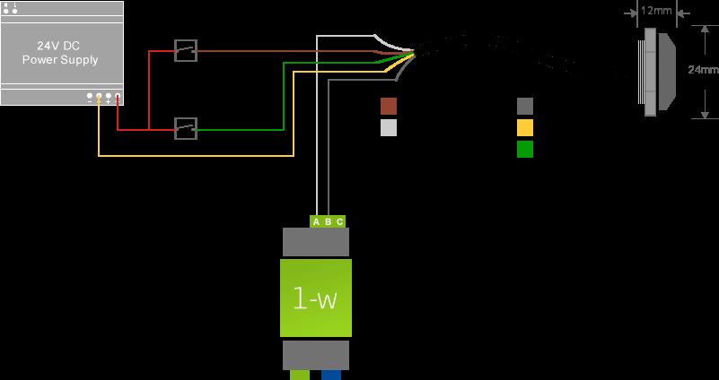 10v Dimming Wiring Diagram Led Downlight Anschluss Von 1 Wire Sensoren Loxone Dokumentation