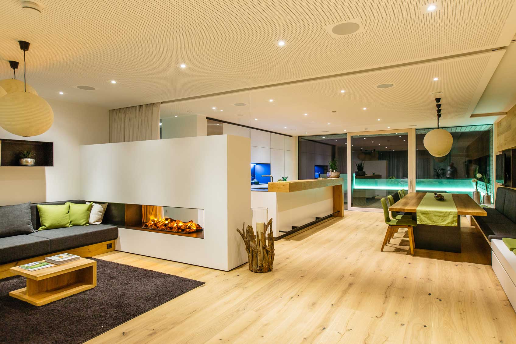 ambient lighting utilize led lights to set the mood of your smart home