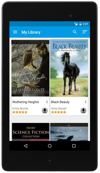 Loyal Books Android App 2