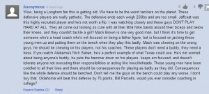 yahoo comment