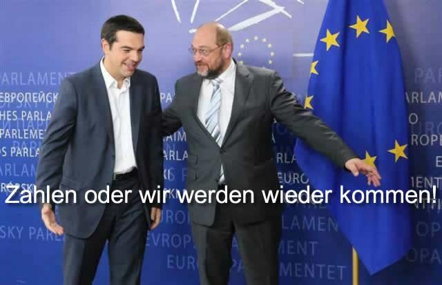 Tsipras - Schultz