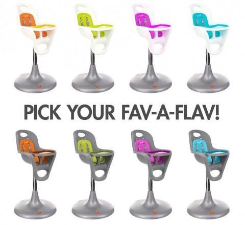Boon Flair Pedestal Highchair with Pneumatic Lift