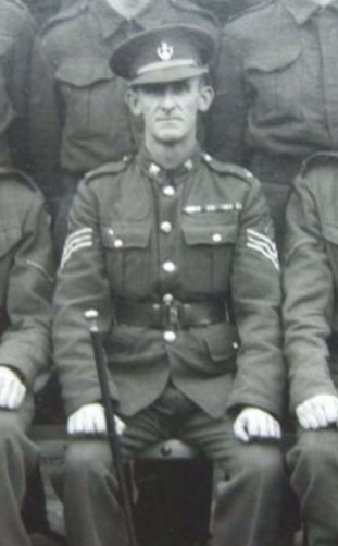 Sgt Fisher, October 1940