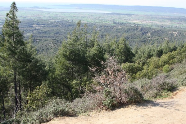 CHUNUK BAIR SUMMIT TOWARDS SUVLA BAY