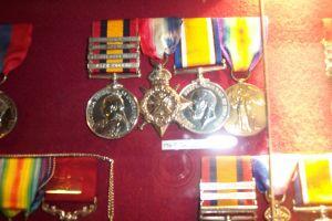 Robert Sanderson's medals
