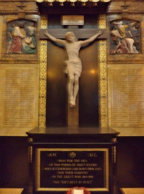 St.-Wilfreds-RC-Church-War-Memorial-in-Preston
