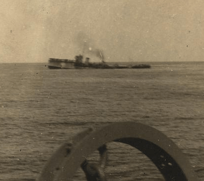 HMS Attack sinking, 30th December 1917