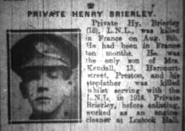 BRIERLEY- harry