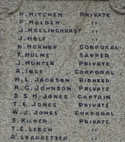 Horwich Loco Works Memorial2