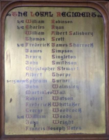 St. Walburge`s panel