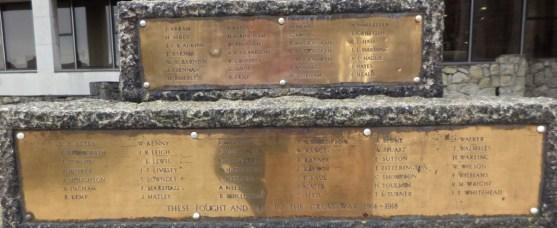 christchurch war memorial panel