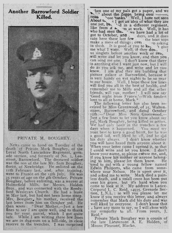 20598 Private Mark Boughey 9th Battalion -3