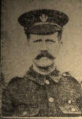 58 Sergeant Robert William Woods B Coy 1-4th Battalion