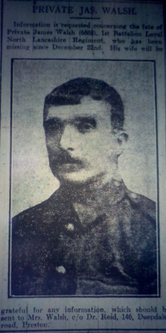 6888 Pte James Walsh 1st Battalion
