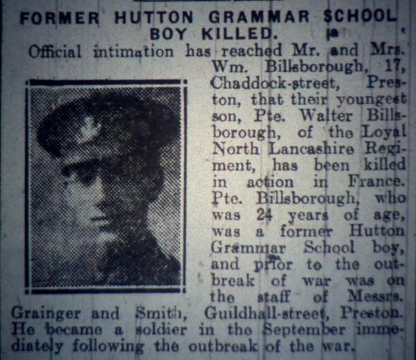 13171 Private Walter Billsborough 2