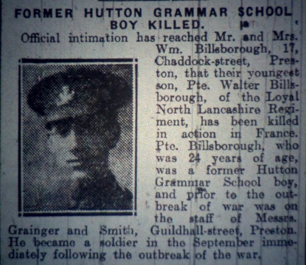13171 Private Walter Billsborough 2